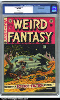 Golden Age (1938-1955):Science Fiction, Weird Fantasy #20 Gaines File pedigree 9/12 (EC, 1953). CGC NM 9.4White pages. Frazetta and Williamson art. Overstreet 2001...