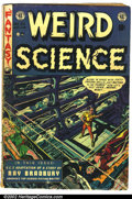 Golden Age (1938-1955):Science Fiction, Weird Science #20 (EC, 1953). Condition: GD/VG....