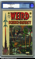 Golden Age (1938-1955):Science Fiction, Weird Science-Fantasy #25 Gaines File pedigree 9/12 (EC, 1954). CGCNM- 9.2 White pages. Overstreet 2001 NM 9.4 value = $350...
