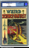 Golden Age (1938-1955):Science Fiction, Weird Science-Fantasy #28 Gaines File pedigree 9/12 (EC, 1955). CGC NM+ 9.6 Off-white pages. Overstreet 2001 NM 9.4 value = ...