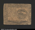 Colonial Notes:Continental Congress Issues, May 10, 1775, $4, Continental Congress Issue, CC-4, Fine+. ...