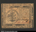 Colonial Notes:Continental Congress Issues, May 10, 1775, $5, Continental Congress Issue, CC-5, VF. ...