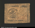 Colonial Notes:Continental Congress Issues, May 10, 1775, $5, Continental Congress Issue, CC-5, Fine. ...