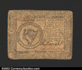Colonial Notes:Continental Congress Issues, May 10, 1775, $8, Continental Congress Issue, CC-8, VF. ...