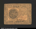 Colonial Notes:Continental Congress Issues, February 17, 1776, $7, Continental Congress Issue, CC-29, VF+. ...