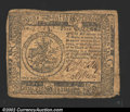 Colonial Notes:Continental Congress Issues, November 2, 1776, $5, Continental Congress Issue, CC-50, VF+. ...