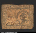 Colonial Notes:Continental Congress Issues, February 26, 1777, $3, Continental Congress Issue, CC-56, Fine....