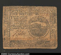 Colonial Notes:Continental Congress Issues, February 26, 1777, $4, Continental Congress Issue, CC-57, Fine....