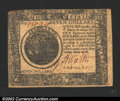 Colonial Notes:Continental Congress Issues, September 26, 1778, $7, Continental Congress Issue, CC-80, XF. ...