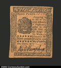 Colonial Notes:Pennsylvania, October 25, 1775, 9d, Pennsylvania, PA-184, AU. There are a ...