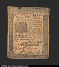 Colonial Notes:Pennsylvania, April 25, 1776, 20s, Pennsylvania, PA-206, VF. ...