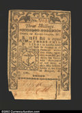 Colonial Notes:Rhode Island, May, 1786, 3s, Rhode Island, RI-294, VF+. Note has some light ...