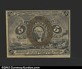 Fractional Currency:Second Issue, Second Issue 5c, Fr-1232, Choice CU. ...
