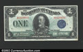 Canadian Currency: , Canada 1923 $1 XF-AU, with a small spot. ...