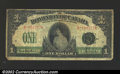 Canadian Currency: , Canada $1 1917, VG-Fine. ...