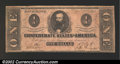 Confederate Notes:1862 Issues, 1862 $1 Clement C. Clay, T-55, Fine+. ...