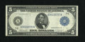 Fr. 870 $5 1914 Federal Reserve Note Very Fine