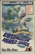 "Movie Posters:Science Fiction, Destination Inner Space (Magna, 1966). Poster (30"" X 40""). ScienceFiction...."