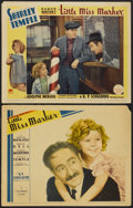 "Movie Posters:Comedy, Little Miss Marker (Paramount, 1934 and R-1936). Lobby Cards (2)(11"" X 14""). Comedy.... (Total: 2 Items)"