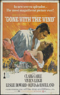 "Movie Posters:Academy Award Winner, Gone with the Wind (MGM, R-1986). One Sheet (27"" X 41""). Academy Award Winner...."