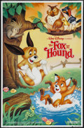 "Movie Posters:Animated, The Fox and the Hound (Buena Vista, R-1988). One Sheet (26"" X 40""). Animated...."