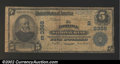National Bank Notes:Virginia, Norfolk, VA - $5 1902 Plain Back Fr. 598 Norfolk ...