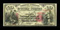 National Bank Notes:Pennsylvania, Pittsburgh, PA - $20 1875 Fr. 432 The Duquesne NB Ch. # 2278. ...