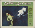 """Movie Posters:Horror, Creature From the Black Lagoon (Universal International, 1954). Lobby Card (11"""" X 14""""). Horror...."""