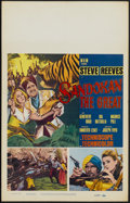 "Movie Posters:Adventure, Sandokan the Great (MGM, 1965). Window Card (14"" X 22"").Adventure...."