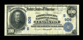 National Bank Notes:Kentucky, Lexington, KY - $100 1902 Date Back Fr. 695 The First & City NBCh. # (S)906. ...