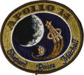 Explorers:Space Exploration, Apollo 14 Command Module Kittyhawk Flown Stitched ClothMission Emblem....