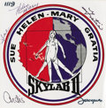 Explorers:Space Exploration, Skylab II (SL-3) Signed Wives Decal,...