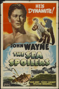 """Movie Posters:Action, The Sea Spoilers (Realart, R-1948). One Sheet (27"""" X 41"""").Action...."""