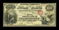 National Bank Notes:Ohio, Springfield, OH - $10 Original Fr. 409 The First NB Ch. # 238. ...