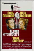 """Movie Posters:Hitchcock, Torn Curtain (Universal, 1966). One Sheet (27"""" X 41""""). Hitchcock...."""