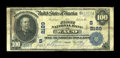 National Bank Notes:Texas, Waco, TX - $100 1902 Date Back Fr. 696 The First NB Ch. # (S)2189....