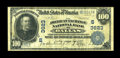 National Bank Notes:Texas, Dallas, TX - $100 1902 Plain Back Fr. 700 The American Exchange NB Ch. # (S)3623. ...
