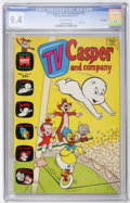 Bronze Age (1970-1979):Cartoon Character, TV Casper and Company #31 File Copy (Harvey, 1971) CGC NM 9.4Off-white pages....