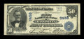 National Bank Notes:Missouri, Kansas City, MO - $50 1902 Plain Back Fr. 676 The First NB Ch. #3456. ...