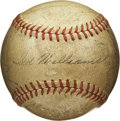 Autographs:Baseballs, 1947 Boston Red Sox Team Signed Baseball. Fabulous example with 26signatures comes to us by way of the 1947 Boston Red Sox....