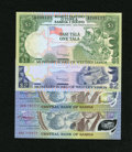 World Currency: , Western Somoa 1; 2; 2; 2 Tala (1980 - 1990) Pick 19; 20; 31a; 31e.. ... (Total: 4 notes)