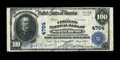 National Bank Notes:Indiana, South Bend, IN - $100 1902 Plain Back Fr. 702 The Citizens NB Ch. # 4764. ...