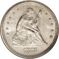 Seated Quarters, 1875-S 25C MS65 NGC....
