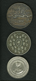 Expositions and Fairs, Columbian World's Fair Medal Trio.... (Total: 3 medals)