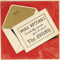 Music Memorabilia:Recordings, Avons Hull Records Cordially Invite You To Meet The Avons LP (Hull 1000, 1960). The New Jersey doo-wop had an ar... (Total: 1 Item)