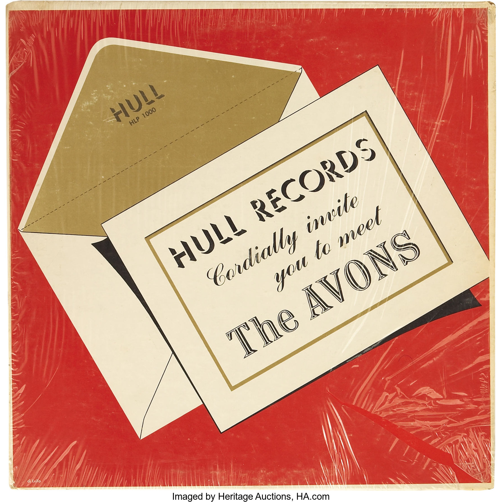 Avons Hull Records Cordially Invite You To Meet The Avons Lp Hull Lot 30174 Heritage Auctions
