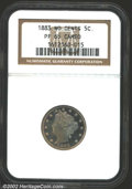 Proof Liberty Nickels: , 1883 5C No Cents PR65 Cameo NGC. An important coin for ...