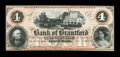 Canadian Currency: , Sault St. Marie, CW- The Bank of Brantford $4 Nov. 1, 1859 Ch. #40-12-06R. ...