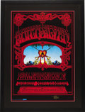 """Music Memorabilia:Posters, Quicksilver Messenger Service """"Eternal Reservoir"""" Avalon ConcertPoster, Signed Third Printing (Rick Griffin, 1976). To ente...(Total: 1 Item)"""