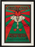 "Music Memorabilia:Posters, Straight Theater Second Annual ""Grope for Peace"" Event Poster,Signed by the Artist (1967). Rick Griffin contributed a true ...(Total: 1 Item)"